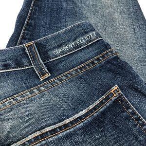Blue Current/Elliott Low Rise Skinny Jean Size 28